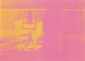electric chair [ii.82] by andy warhol